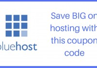 bluehost coupon 2017